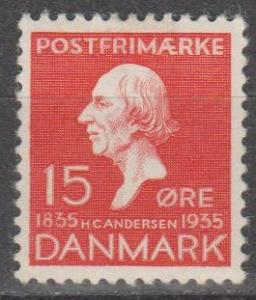 Denmark #249 F-VF Unused CV $16.00 (B12917)