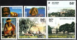 French Polynesia #430-35  MNH CV $7.00 (X2338)