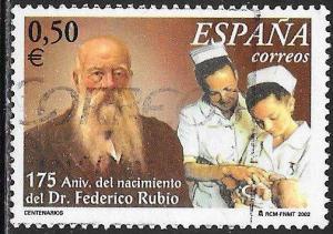 Spain 3164 Used - Dr. Federico Rubio
