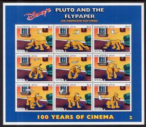 Maldive Islands 2191-2192 Disney's Souvenir Sheets MHH VF