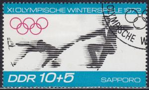 Germany DDR B163 USED XI Winter Olympic Games, Sapporo