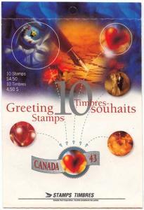 Canada - 1994 Custom Self-Adhesive Booklet mint #BK166a