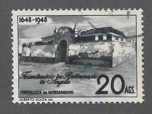 ANGOLA Scott #314 Used stamp 2013 CV $5.25