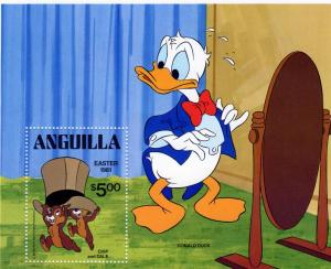 Anguilla 1981 DONALD DUCK s/s Perforated Mint (NH)