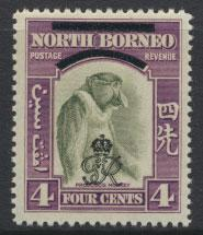 North Borneo  SG 338 SC# 226 MNH    OPT GR Crown - See scan