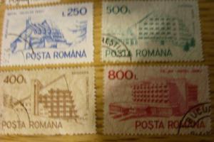 1991 Romainia Complete Set (21) Stamps