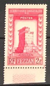 Libya Fezzan #2N2 MNH CV$1.25