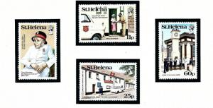 St Helena 420-23 MNH 1984 Salvation Army