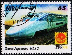 Cuba. 2001 65c S.G.4499  Fine Used
