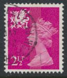 Great Britain Wales  SG W13 SC# WMMH1 Used  see details 1 center band