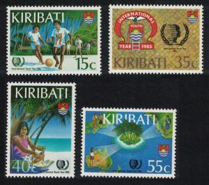 Kiribati Football International Youth Year 4v SG#241-244 SC#460-463