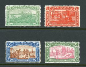 NEW ZEALAND SC#122/25 SG#370/73 CHURCHCHRIST SET MINT NEVER HINGED