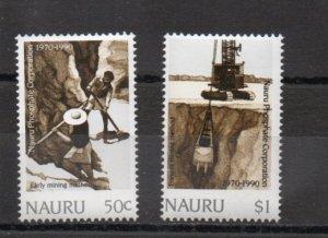 Nauru 368-369 MNH