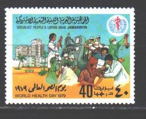 Libya. 1979. 727. Medicine, Health Day. MNH.