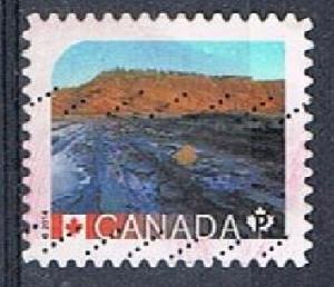 CANADA 170332 - 2016 NVI UNESCO World Heritage Sites used sa booklet single