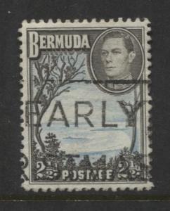 Bermuda - Scott 120A - Grape Bay - 1938 - VFU -  Single - 2.1/2d Stamp