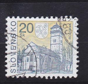 Slovakia  Scott#  225  Used