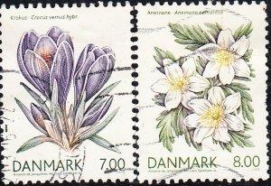 Denmark #1345-1348  Used
