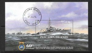 PITCAIRN ISLANDS SGMS668 2004 HMS PITCAIRN FINE USED