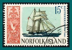 Norfolk Island 1968 Ships (series 3), 15c used  #108,SG85