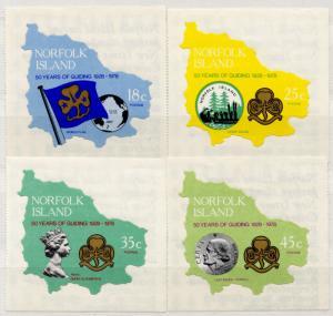 (I.B) Australia Cinderella : Norfolk Island Girl Guides Collection