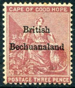 HERRICKSTAMP BECHUANALAND Sc.# 3 Mint NG Scott Retail $60.00