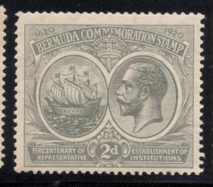 Bermuda #57 Gray - Unused - O.G. - L.H.