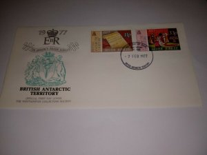 British antarctic territory 1977 Silver Jubilee First Day Cover
