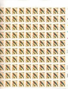 US 3033 - 3¢ Eastern Bluebird Unused