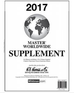 H E Harris Master World Supplement for Stamp issued in 2017