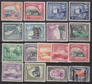 CYPRUS^^^^^#143-155  RARER  MNH/MH     KEY set   $$@xxxx  ha  1309cyp