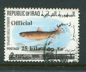 Iraq #O313 Used