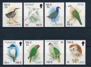 [40134] Niue 1992 Birds Vögel Oiseaux Ucelli Pigeon Kingfisher Parrot Owl MNH