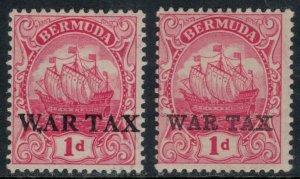 Bermuda #MR1-2*  CV $3.65