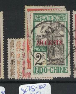 French Indochina SC 75-80 VFU (5dvx)