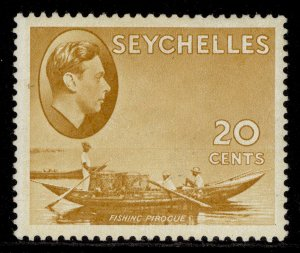 SEYCHELLES GVI SG140b, 20c brown-ochre, M MINT.