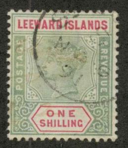 Leeward Islands 7 Used VF