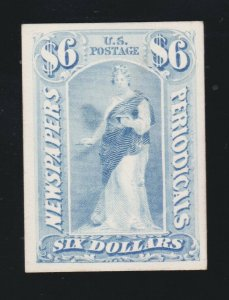 US PR26P4 Newspaper Periodical Proof on Card VF-XF NH SCV $15