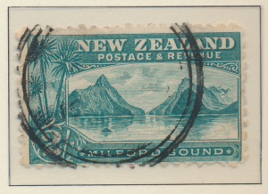 New Zealand Stamp Scott #97, Used - Free U.S. Shipping, Free Worldwide Shippi...