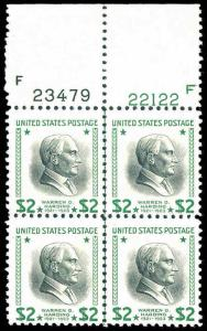 U.S. PLATE BLOCKS 833  Mint (ID # 86615)