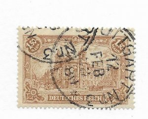 Germany #113 Used CAT VALUE $1.90