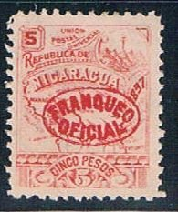 Nicaragua Numeral 5 (NP7R603)