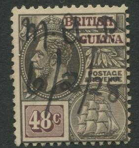 British Guiana - Scott 198 - KGV Definitive -1921 - VFU - Single 48c Stamp