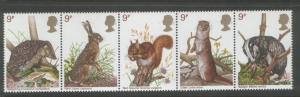 Great Britain 1977 Wildlife (5) Scott #