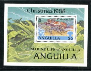 Anguilla 768-772, MNH, 1988. Marine Life. x29478