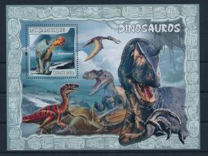 [31559] Mozambique 2007 Pre historic animals Dinosaurs MNH Sheet