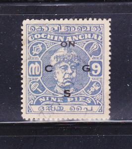 India Cochin O78 U Maharaja Ravi Varma