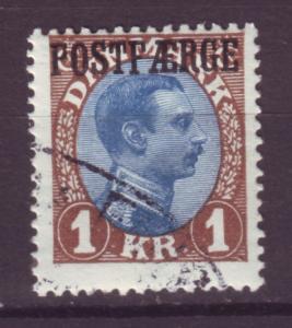 J16657 JLstamps 1919-41 denmark used cancel w/gum #q9 parcel post