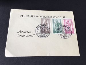 Lunburg 1956 Berlin  stamps cover Ref R28695