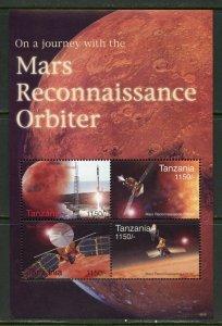 TANZANIA  MARS  RECONNAISSANCE ORBITER SHEET MINT NH